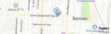 Ателье по пошиву авточехлов на карте Белово