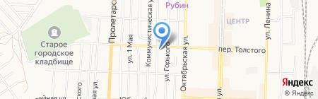 Торгово-транспортная компания на карте Белово