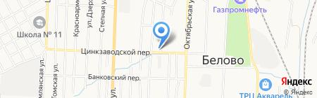 СанТехЭконом на карте Белово