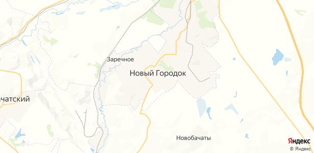 Новый Городок на карте