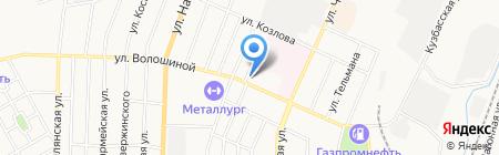 Зал Царства Свидетелей Иеговы на карте Белово