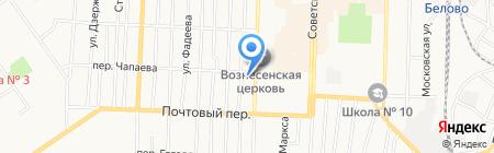 Фруктовый регион на карте Белово