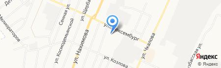 Кузбассэнергосбыт на карте Белово