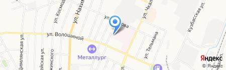 Родильный дом на карте Белово