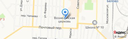 Белком ЖКХ на карте Белово