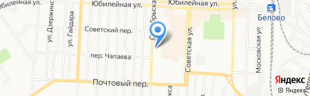 Церковь Вознесения Господня на карте Белово