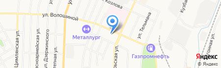Стек Кузбасс Сервис на карте Белово
