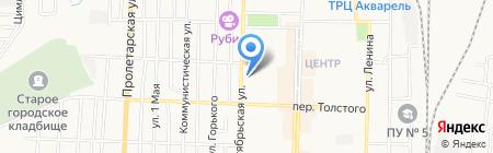 Эдем-Люкс на карте Белово