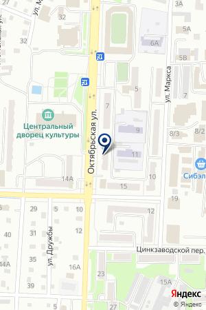 МАГАЗИН ЕВРО ОБОИ на карте Белово