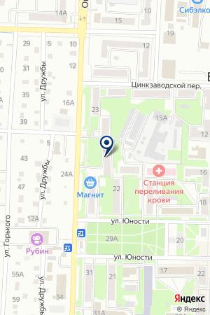 ЦЕНТРАЛЬНЫЙ БАНК РФ на карте Белово