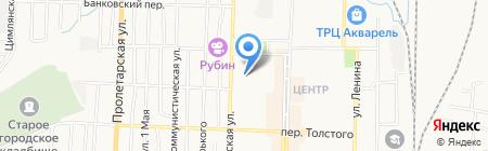 Даймонд на карте Белово