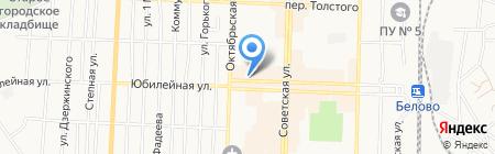 Радио Мир на карте Белово