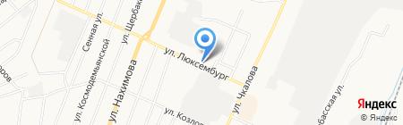 Врачебно-физкультурный диспансер на карте Белово