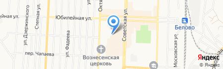 Мебельная компания на карте Белово