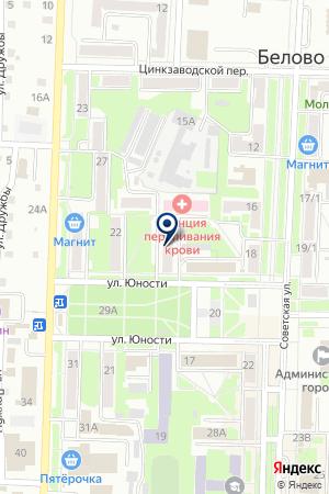 МАГАЗИН АЛТАЙСКИЕ КОЛБАСЫ на карте Белово