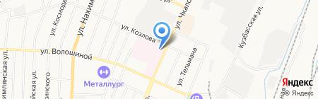 Поликлиника на карте Белово