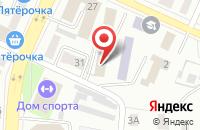 Схема проезда до компании СЕРВИС-F1 в Белово