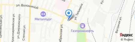 УралСиб на карте Белово