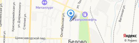 Детский сад №40 на карте Белово