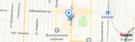 Торговая компания на карте Белово