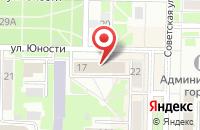 Схема проезда до компании Стройконтинент в Белово