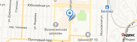 Магазин ковров на карте Белово