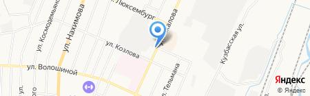 Елена на карте Белово