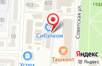 Схема проезда до компании Кузбассрадио в Белово