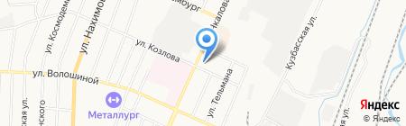 Фотостудия на карте Белово