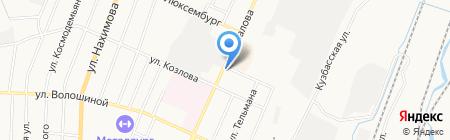 Аркос на карте Белово