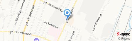 Беловское бистро на карте Белово