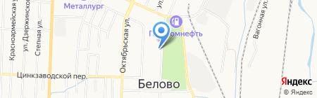Пиво Сибири на карте Белово