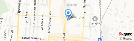 Hi-Tech на карте Белово