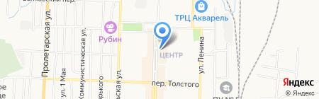Подорожник на карте Белово