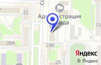Схема проезда до компании ТЕТРАКС+ в Белове