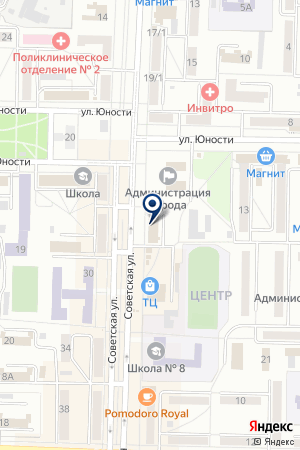 ЦЕНТР ТЕЛЕКОММУНИКАЦИЙ БЕЛОВСКИЙ ЦТ на карте Белово