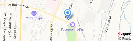 Сити-Суши на карте Белово