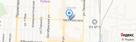 Киоск по продаже хлебобулочных изделий на карте Белово