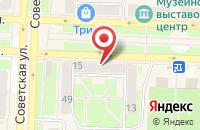 Схема проезда до компании Телерадиокомпания «Твм» в Белово