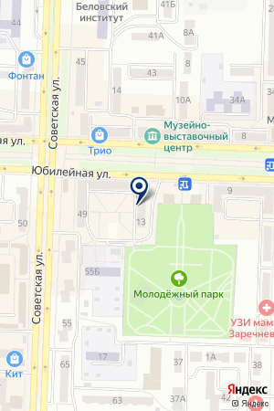 МАГАЗИН ПУЛЬКИН В.М. на карте Белово