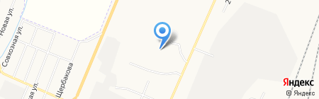 Беловский почтамт на карте Белово
