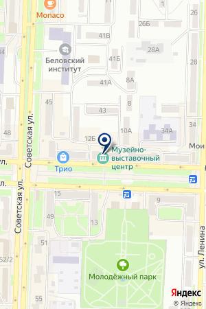 ОРГАНИЗАЦИЯ ОХОТНИКОВ И РЫБАЛОЛОВ на карте Белово