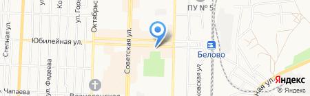 Связной на карте Белово