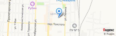 Отдел Военного Комиссариата Кемеровской области по г. Белово на карте Белово