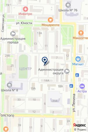 МУ МОЛОДЕЖНАЯ ОРГАНИЗАЦИЯ СПОРТ И ТУРИЗМ на карте Белово