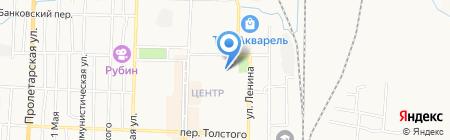 Уголовно-исполнительная инспекция ГУФСИН России по Кемеровской области на карте Белово