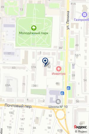 БЕЛОВСКИЙ ПЕДАГОГИЧЕСКИЙ КОЛЛЕДЖ на карте Белово
