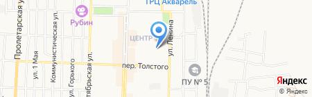 Туровский Н.М. на карте Белово