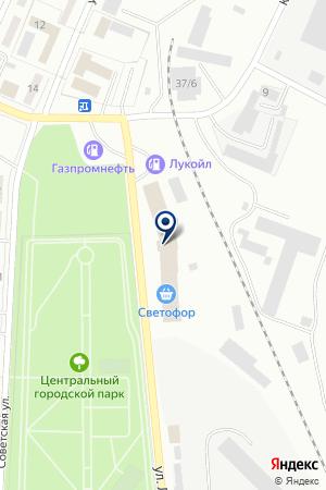 БЕЛОВСКИЙ ЭЛЕВАТОР на карте Белово