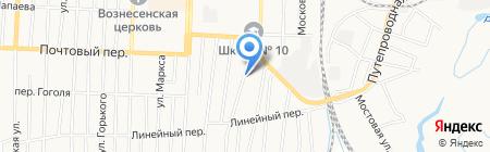 Деталь Авто на карте Белово